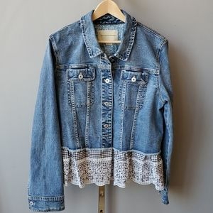Anthropologie Pilcro and the Letterpress Denim Flo